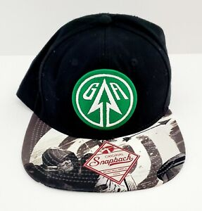 Bioworld DC Comics Green Arrow Logo Adjustable Snapback Hat Cap Black Green