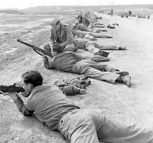 WWII B&W Photo US Marine Raider Rifle Training M1 Garand USMC WW2 /1293 |  eBay