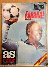 REVISTA AS COLOR 366 EXTRA MUNDIAL-78  AUPA ESPAÑA 1978