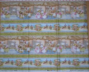 BEATRIX-POTTER-border-stripe-kids-quilting-fabric-by-the-1-2-METRE