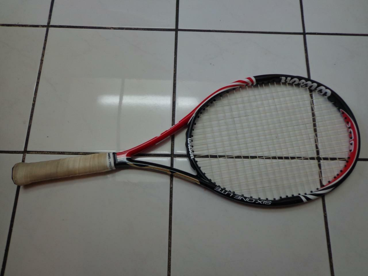 Wilson Blx seis uno 102 Lite 8.8 OZ (approx. 249.47 g) 4 1 4 Grip Tenis Raqueta