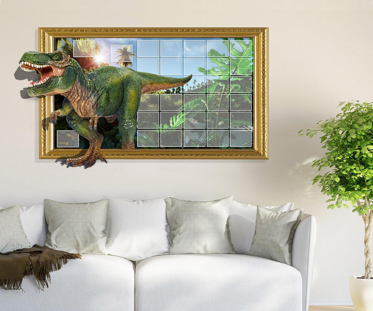 3D Dinosaur tree 54 Wall Stickers Vinyl Murals Wall Print Decal Art AJ STORE AU