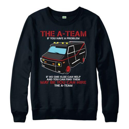 The A-Team Van Jumper Funny 80/'s TV Show Jumper Mr-T  Adult /& Kids Jumper Top