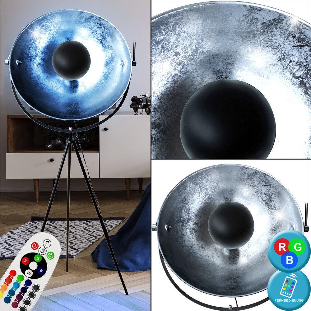 LED Stativ Steh Lampe Schlaf Zimmer RGB Farbwechsel Dimmer Spot Lampe beweglich