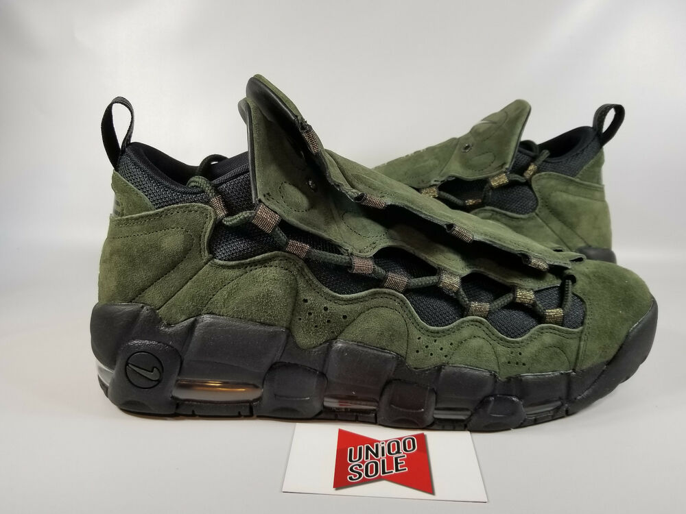 Nike Air More Money DOLLAR ALL STAR vert US DOLLAR Money CURRENCY UPTEMPO AJ7383-300 9.5 Chaussures de sport pour hommes et femmes 56d8db