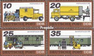 DDR-2299-2302-kompl-Ausgabe-postfrisch-1978-Transportmittel