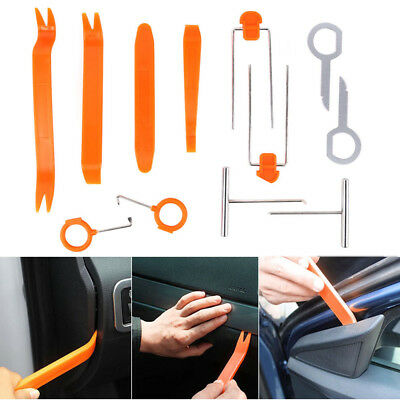 4X Auto Door Trim Panel GPS Radio o Removal Pry Open Tools Kit For Honda