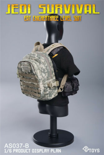 ASTOYS AS037B 1//6 CP Camo.Chest Hanging/&backpack Suit Set Model Accessories Toys