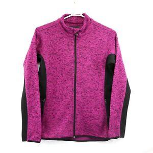 NEW Marc New York Andrew Marc Women/'s Full Zip Fleece Sweater Jacket