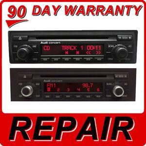 repair audi a3 a4 a6 a8 s4 s6 tt radio concert series cd. Black Bedroom Furniture Sets. Home Design Ideas