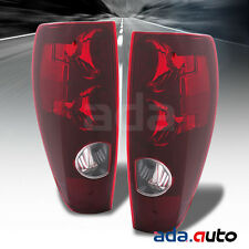 2004-2012 Chevy Colorado/GMC Canyon [Factory Style] Tail Lights Lamps Pair