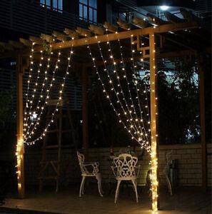 Image Is Loading Ic String Fairy Curtain 300 Led Light Decoration
