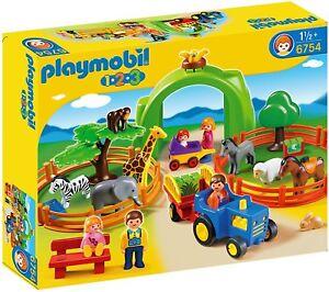 Playmobil 6754 1.2.3 Grand zoo