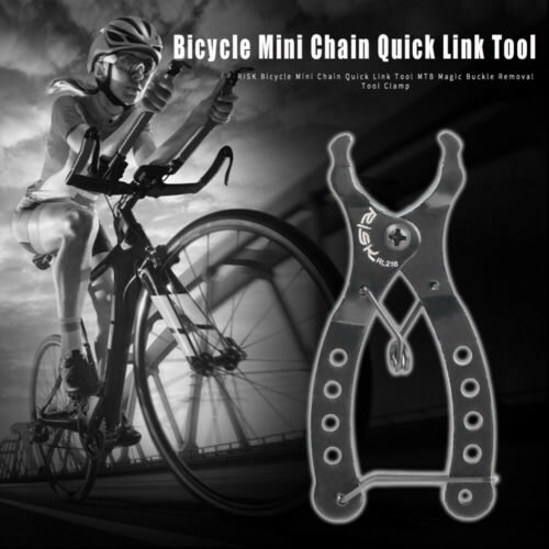 Bicycle Open/&Close Chain Magic Buckle Repair Removal Bike Master Link Plier-Tool