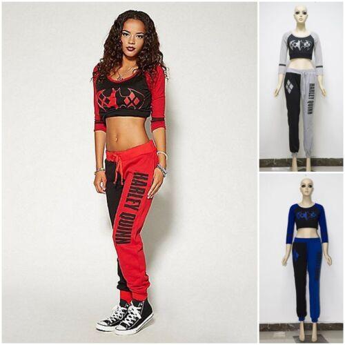 Top Sport Quinn Tuta Joggers shirt Harley Uk Set T pezzi Pantaloni 2 Pantaloni q8wxTSX8