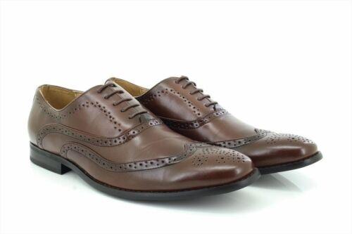 Boys Goor B370 Classic Smart Brogue Oxford Shoes