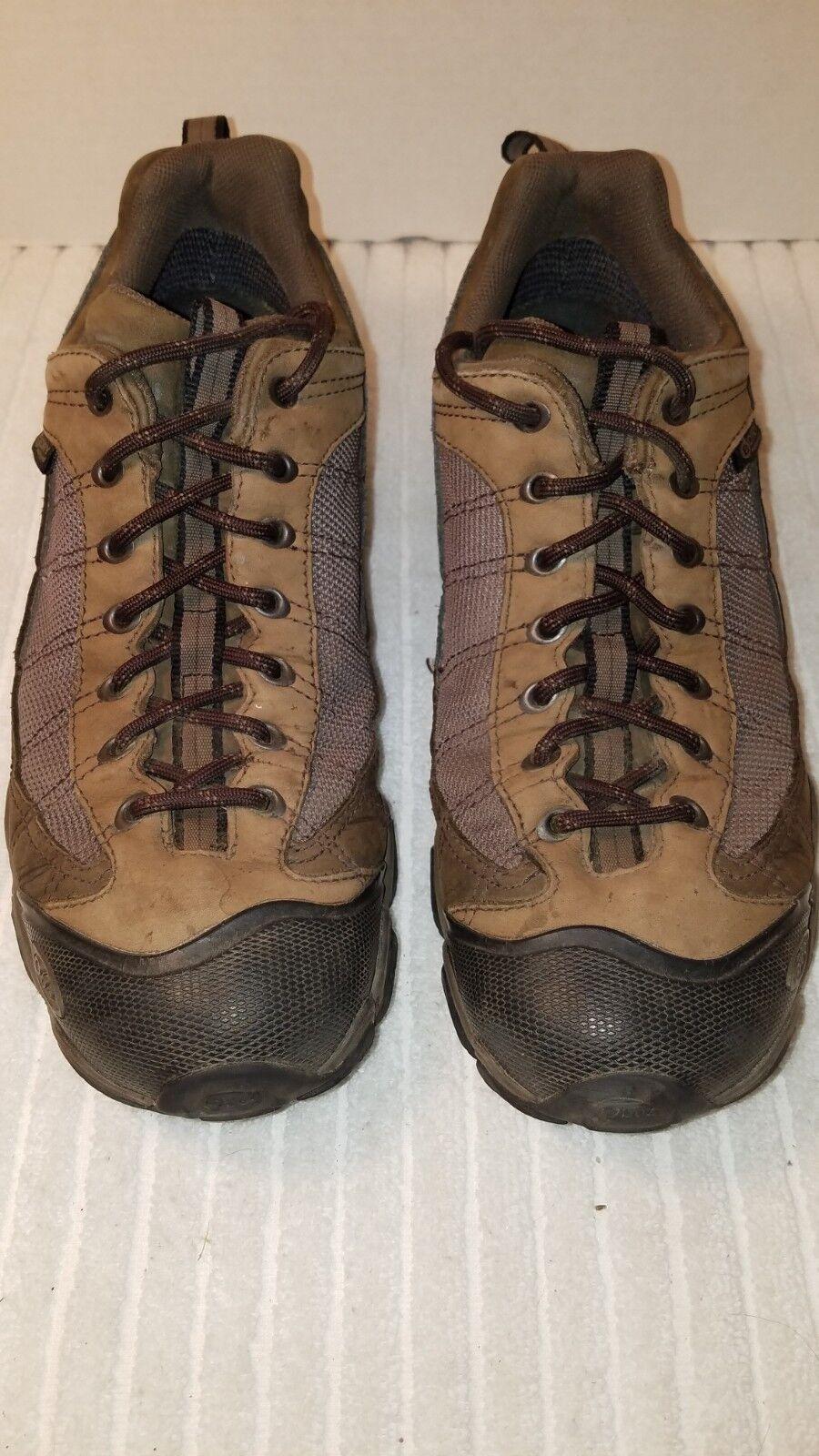 Oboz Mens Firebrand II Bdry Low Hiking shoes Sz 10.5 Umber
