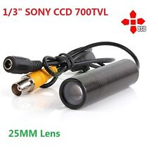 700TV Line Long Range Color Security Mini Bullet Camera 0.0005 Lux w./25mm lens