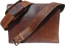 Impressive Vintage Genuine Real Leather Laptop Office Messenger Men's Bag G31
