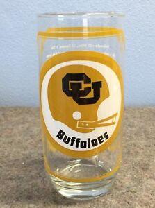 Vtg-Nebraska-Cornhuskers-Football-Glass-Colorado-Buffaloes-1976-SAMs-Collector