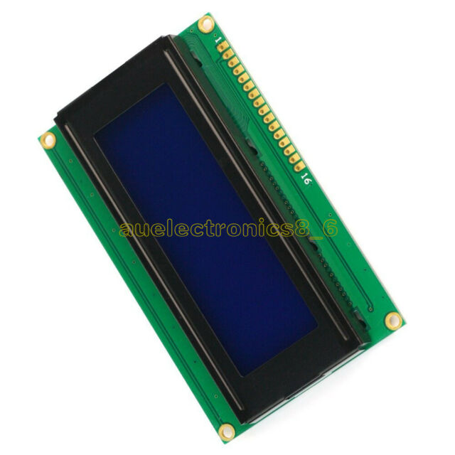 Blue 2004 20x4 Character LCD Display Module HD44780 Controller Blue Blacklight