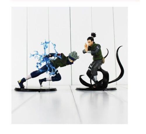 Hatake Kakashi Nara Shikamaru PVC Action Figure Toys Naruto Model Dolls 12-15cm