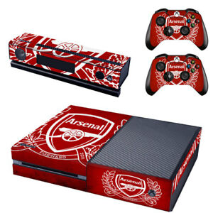 Intelligent Arsenal Crest Xbox One Console Skin Faceplates, Decals & Stickers 2x Controller Stickers Decal Faceplate Pad