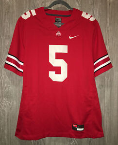 c4254e37e NIKE Ohio State University Buckeyes  5 Red Ltd Football Jersey Mens ...
