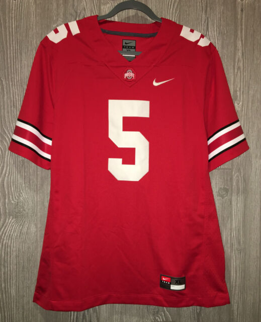 sale retailer 0b880 2b2c7 NIKE Ohio State University Buckeyes #5 Red Ltd Football Jersey NEW Mens S L  XL