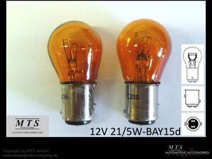 Gluehlampen-21-5W-21-5-W-P21-5W-Blinker-Birnen-Orange-US