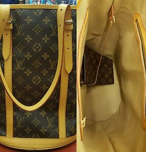 Image Is Loading Louis Vuitton Gm Bucket Bag Repair Service Replacement