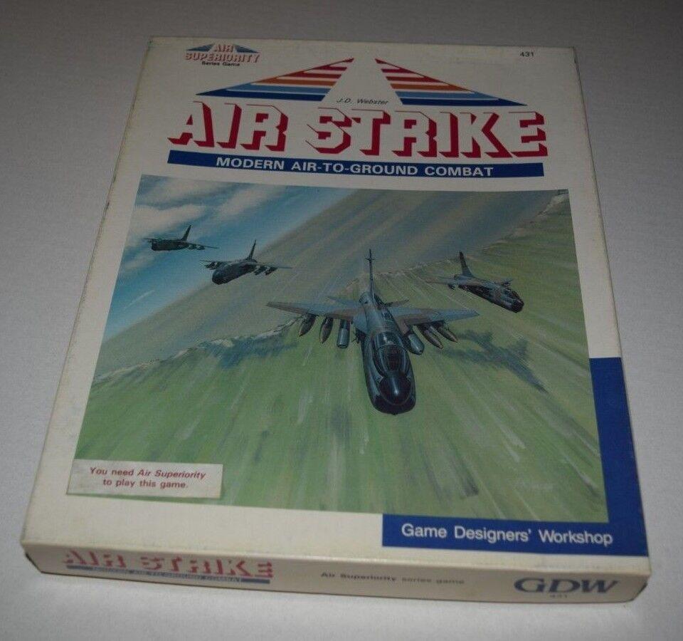 Ataque aéreo moderno aire-tierra de combate & súperioridad aérea GDW 1987 ENLOMADOR