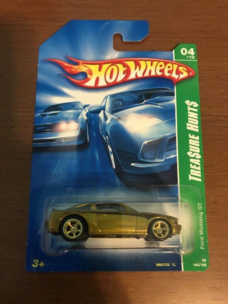 Hot Wheels 2008 Super Treasure Hunt  Ford Mustang GT