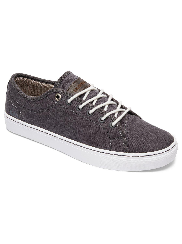 Neu Quiksilver Cove Canvas Herren Sneakers Turnschuhe grey white grau Gr. 41-44