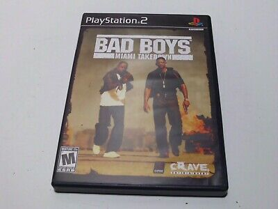 Bad Boys Miami Takedown Sony Playstation 2 Ps2 Video Game Complete 650008399271 Ebay