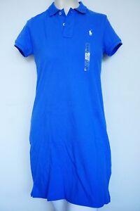 Polo kleid blau