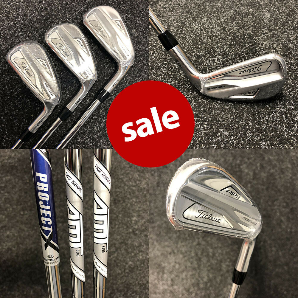 Titleist AP2 718 Irons Steel Right Hand - NEW  2019 REDUCED