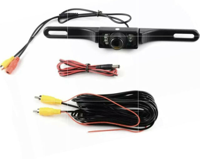COLOR REAR VIEW CAMERA W// ACTIVE GUIDELINES FOR JVC KWV340BT KW-V340BT