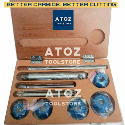 Deg 3 ANGLE CUT ATOZ 20 Bore 5x Set Carbide Tipped Valve Seat Cutters 45-30-70