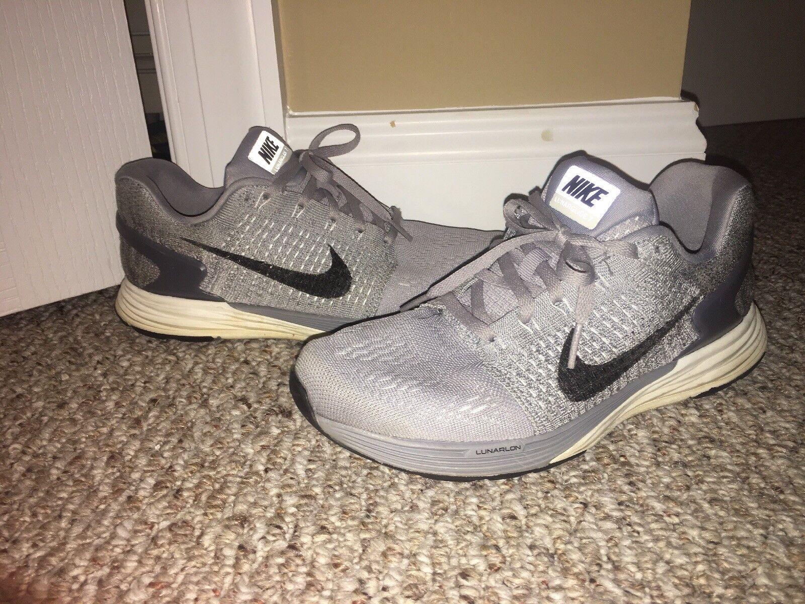 best website 07bab f4e19 Women s Nike Womens Lunarglide 7.5 Gray Athletic Shoes b95c76. Nike Air  Jordan 1 Retro ...