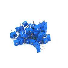 50pcs 3362p 201 3362 200 Ohm High Precision Variable Resistor Potentiometer