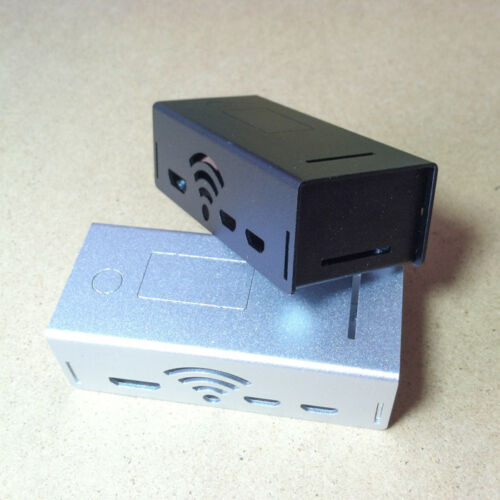 Black Aluminum Protector Enclosure shell Case cover For Raspberry pi zero w