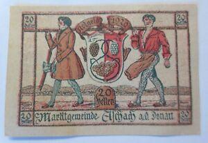 Notgeld 20 Heller Aschach 1920 (50002)