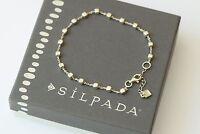 Silpada venice Sterling Silver Ball Bead Italian Made Bracelet B3006