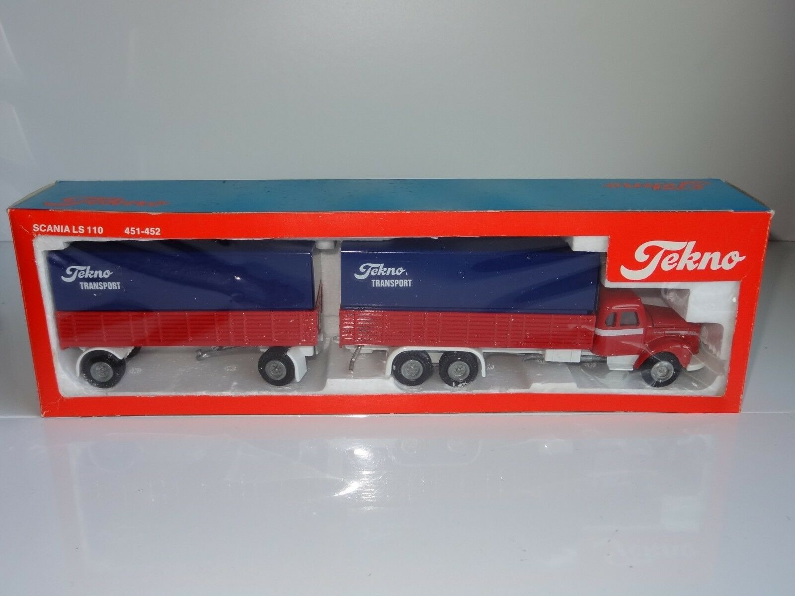 (V) tekno -  SCANIA Ls 110 & TRAILER TEKNO TRANSPORT - 451   452