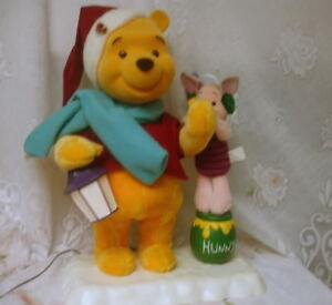 image is loading telco motionette animated disney winnie pooh piglet christmas - Winnie The Pooh Christmas Decorations
