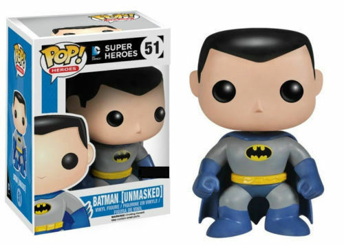 Batman - Batman (Entlarvt) POP Vinyl Figur selten