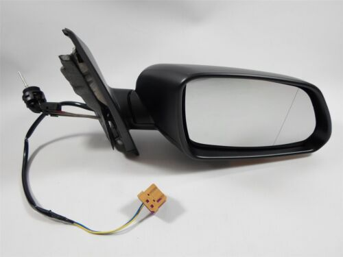For Volkswagen Polo Mk5 05 - 10 Cable Wing Door Mirror Black Cover Drivers Side