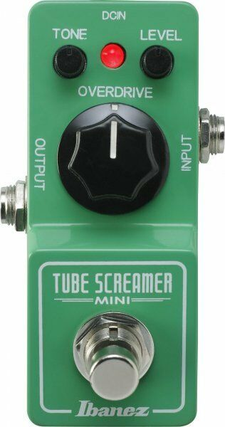 Ibanez TSMINI Tubescreamer TS Mini Electric Guitar Effects Pedal