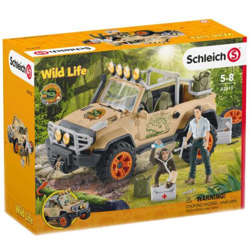 Schleich 42410 Off Roader 4x4 Vehicle with Winch Wild Life